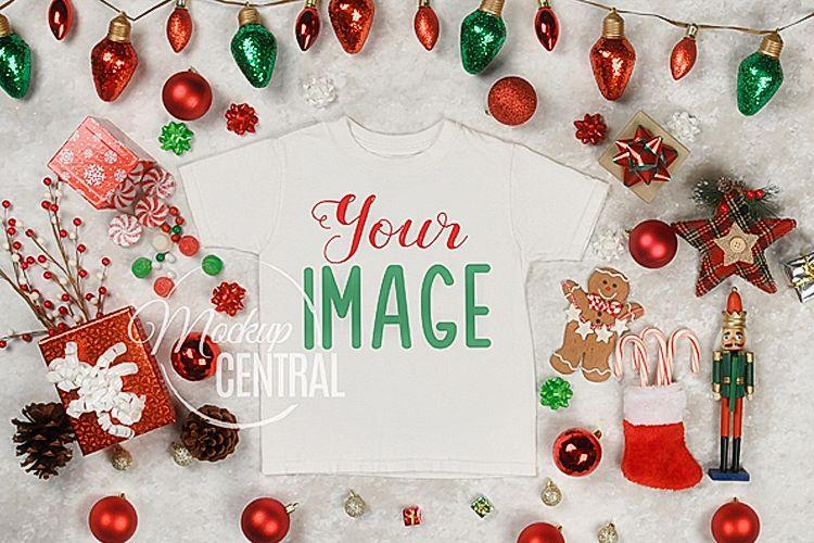 Christmas Top View.Christmas T Shirt Top View Apparel Shirt Mockup Jpg