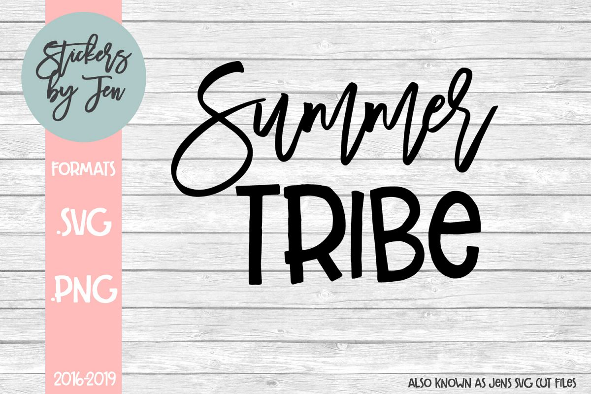 Summer Tribe svg cut file example image 1