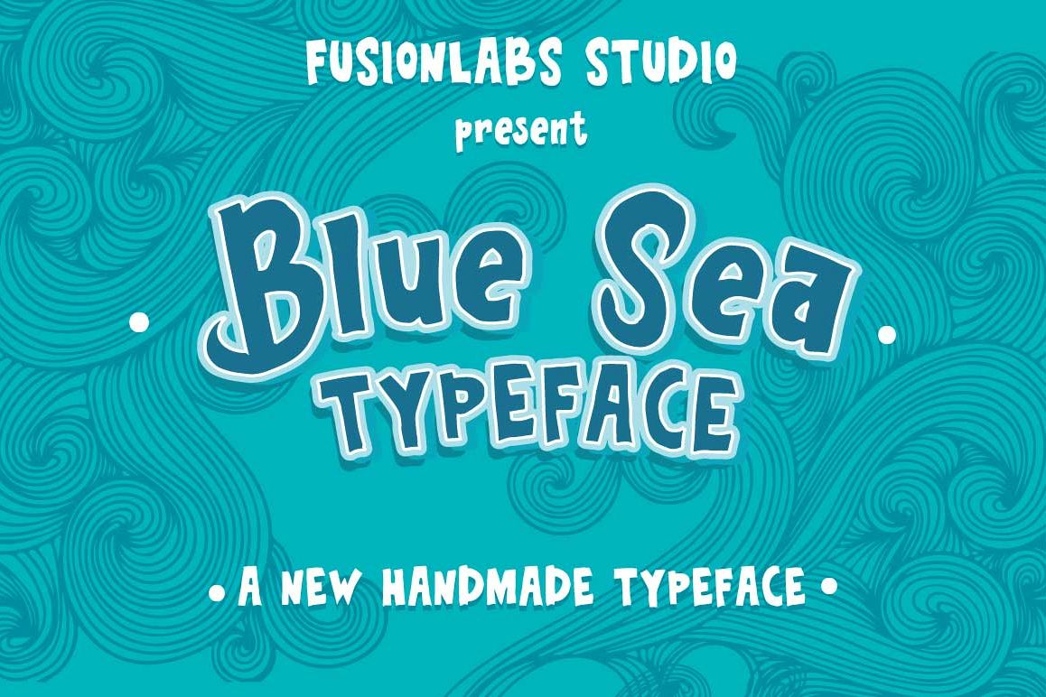 Blue Sea Typeface example image 1