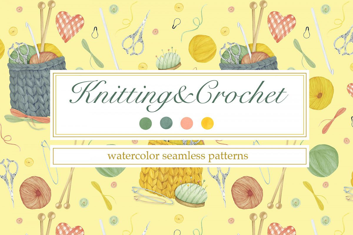 Knitting and Crochet Patterns example image 1