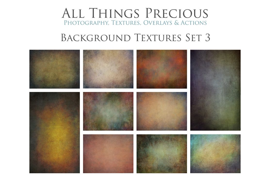 10 Fine Art BACKGROUND Textures SET 3 example image 1