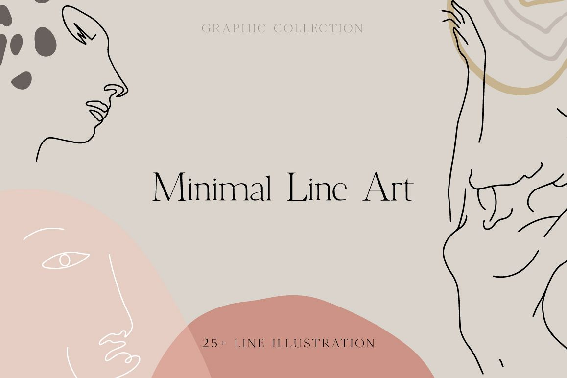 Minimal Line Art Collection example image 1