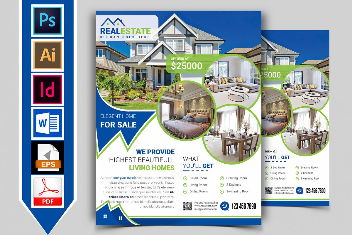Real Estate Flyer Vol-02 example image 1