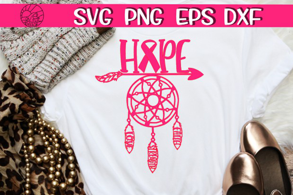 Hope - Dream Catcher - Love - Strength - Faith - example image 1
