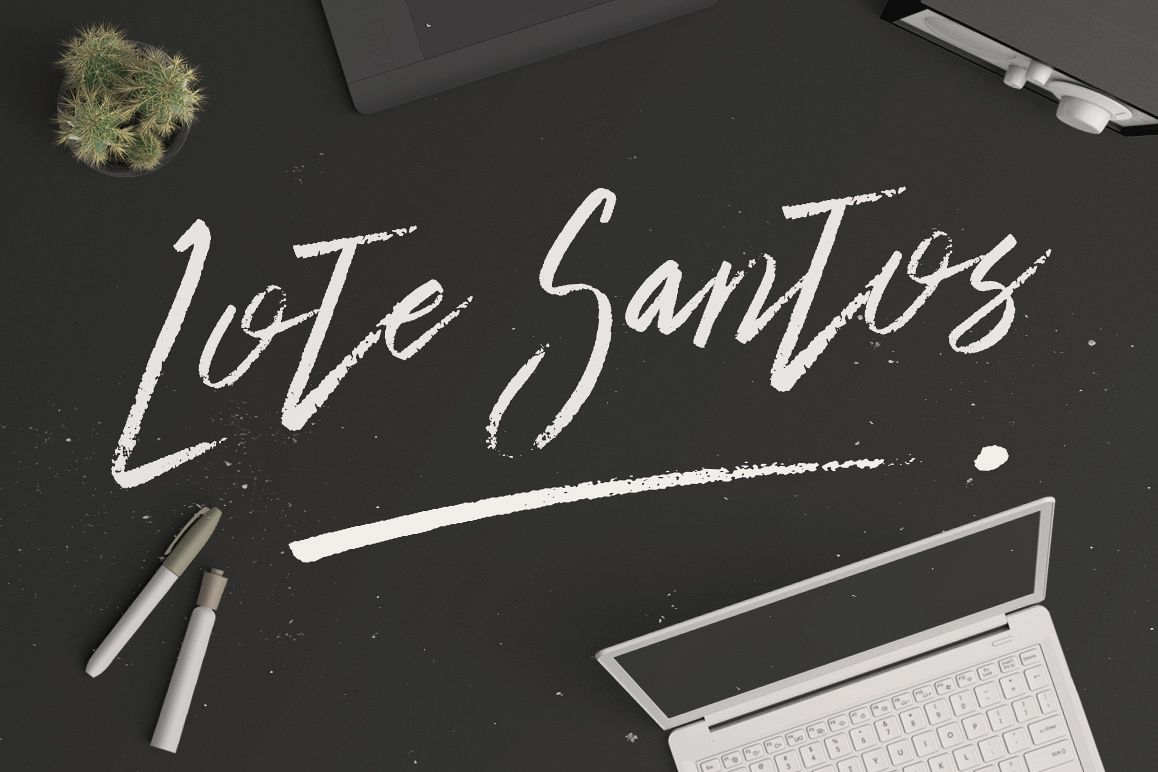 Lote Santos Typeface example image 1