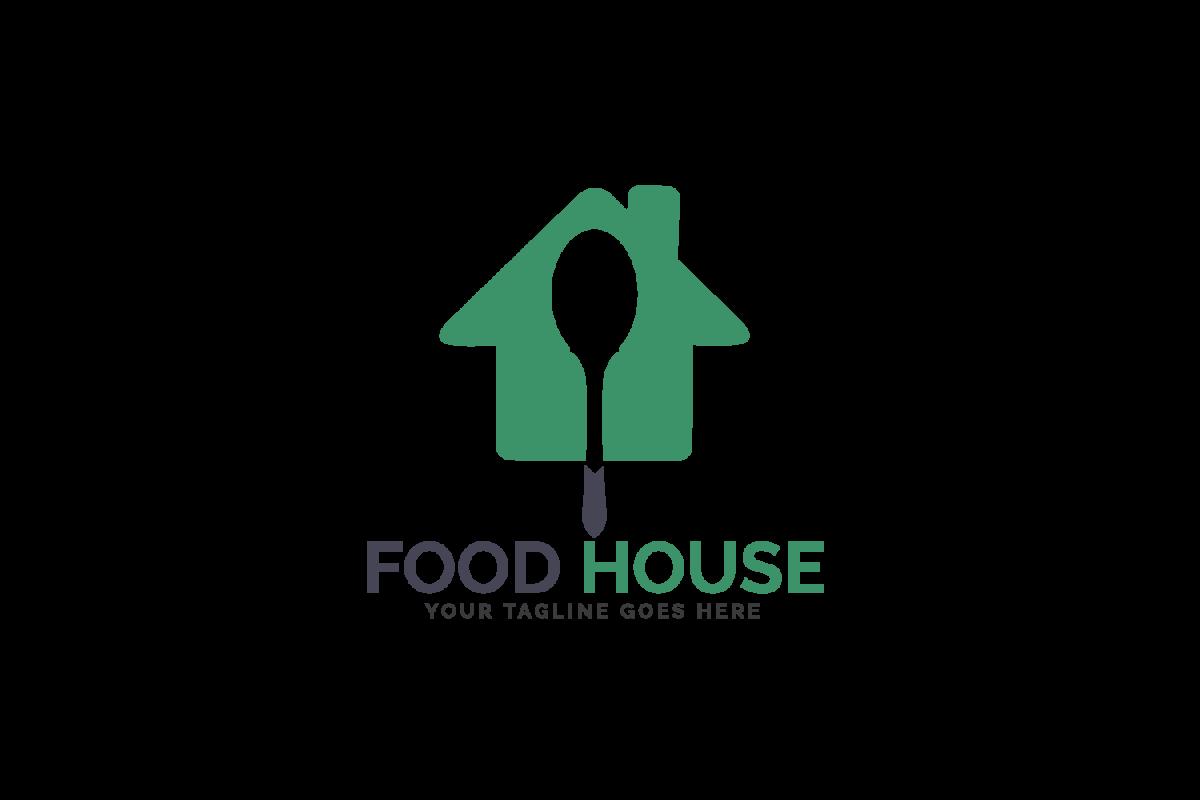 Food House Logo Design. example image 1