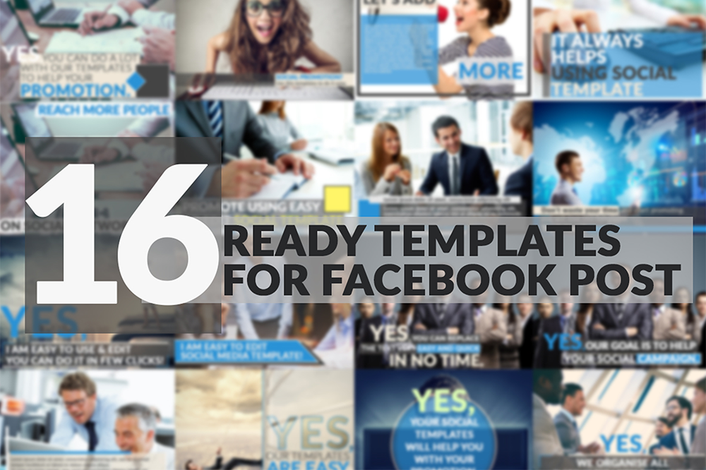 16 facebook post templates
