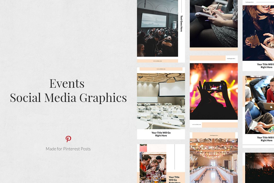 Events Pinterest Posts example image 1