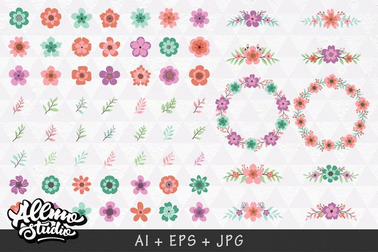 Beautiful Floral element example image 1