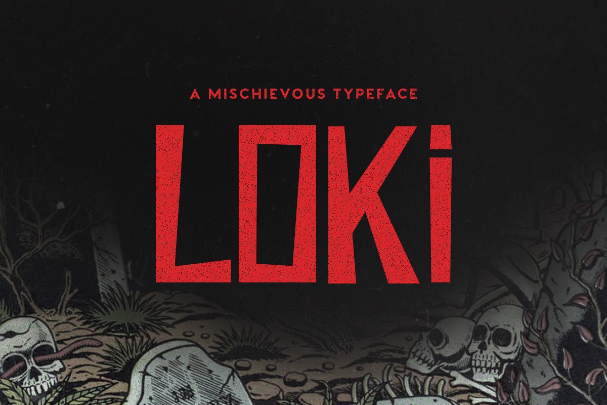 Loki Typeface example image 1