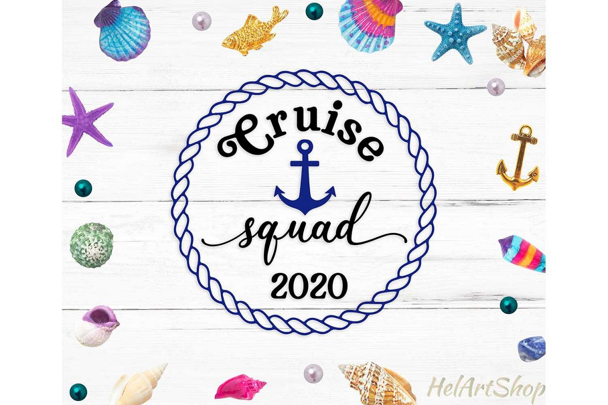 Cruise squad 2020 svg cutting file example image 1