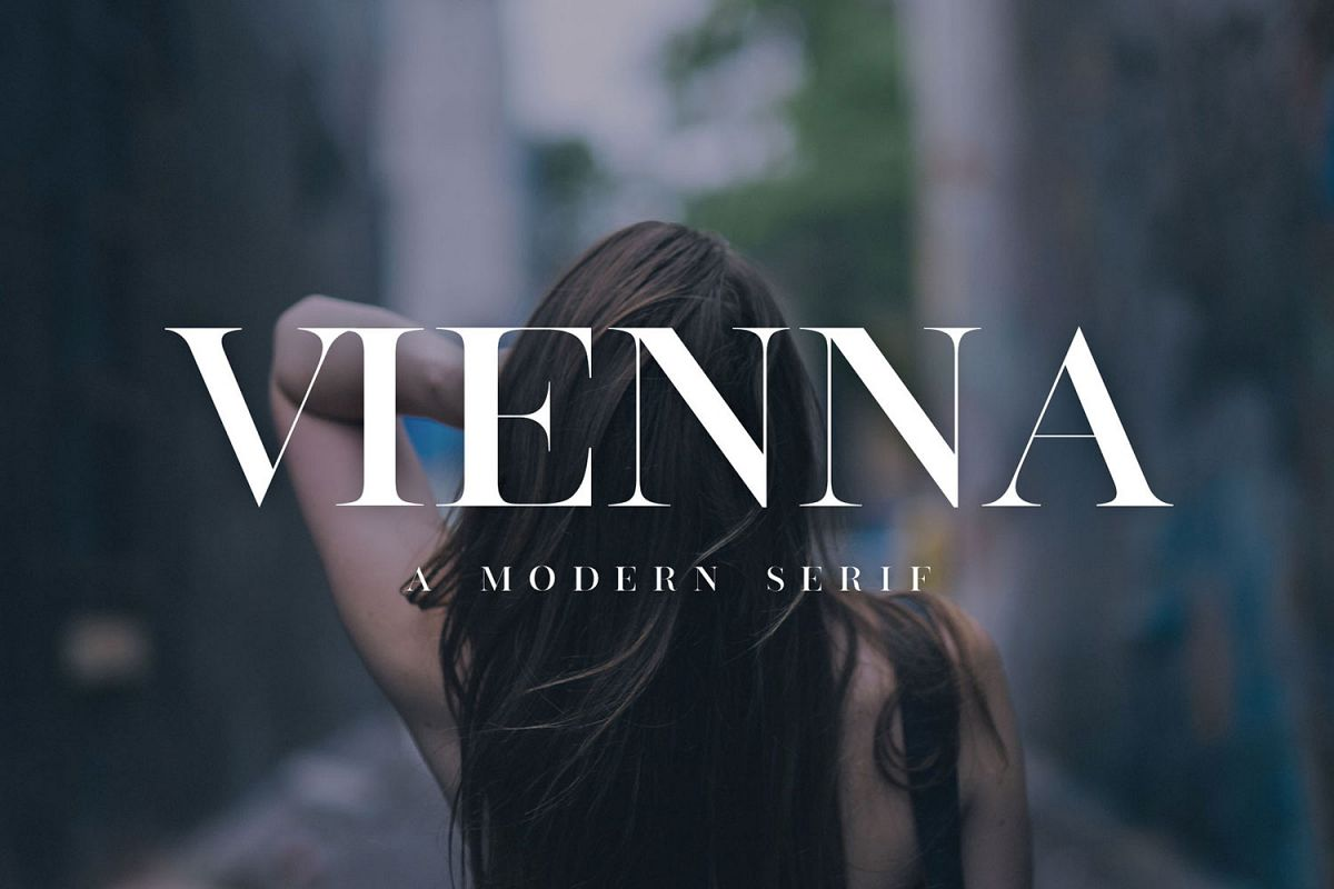 Vienna | Modern Serif Font example image 1
