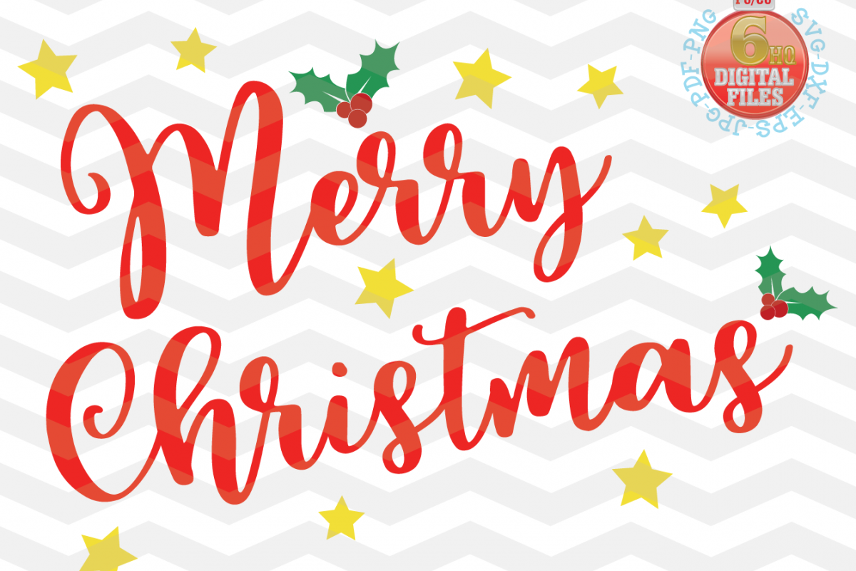 merry christmas svg happy holidays svg xmas svg cutting example image 1