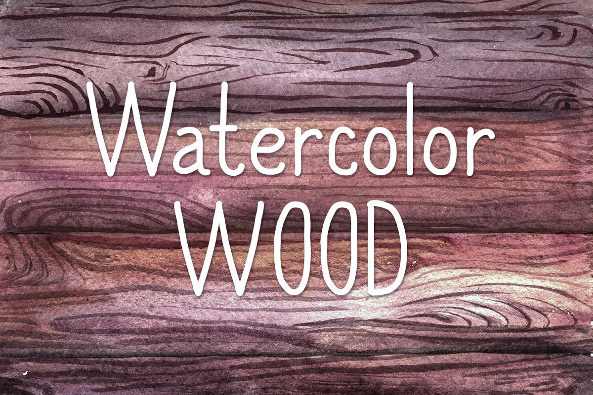 Watercolor Wood example image 1