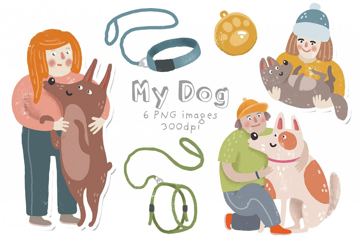 My dog clipart example image 1