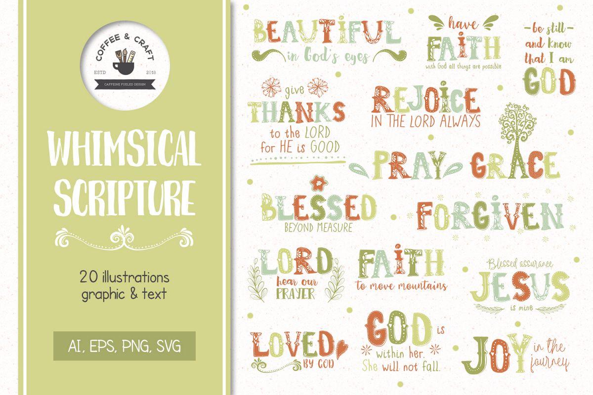 Whimsical Scripture example image 1