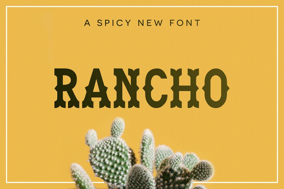 Rancho Font example image 1