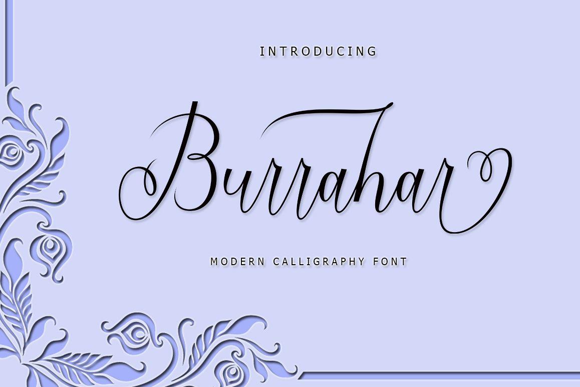 Burrahar Script example image 1