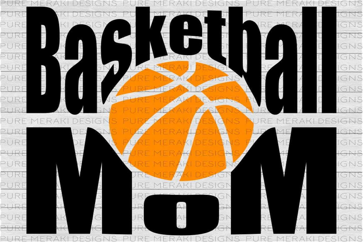 Basketball Mom SVG example image 1