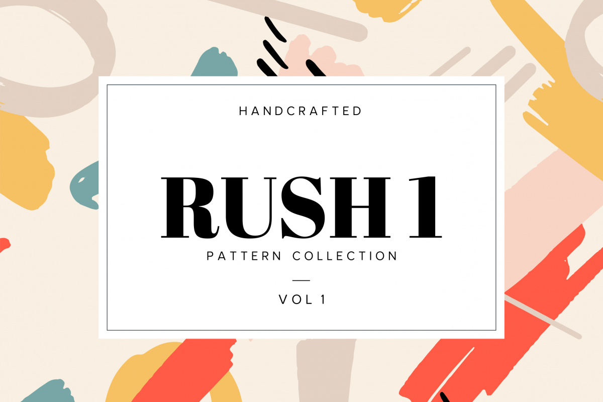 Rush I Handcrafted Patterns example image 1
