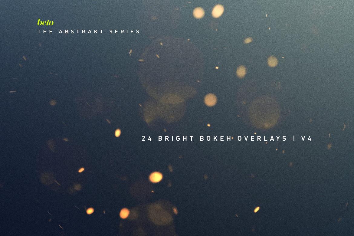 Bright Bokeh Overlays V4 example image 1