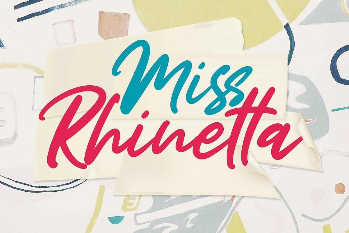 Miss Rhinetta example image 1