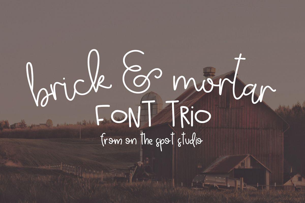 Brick & Mortar Trio example image 1