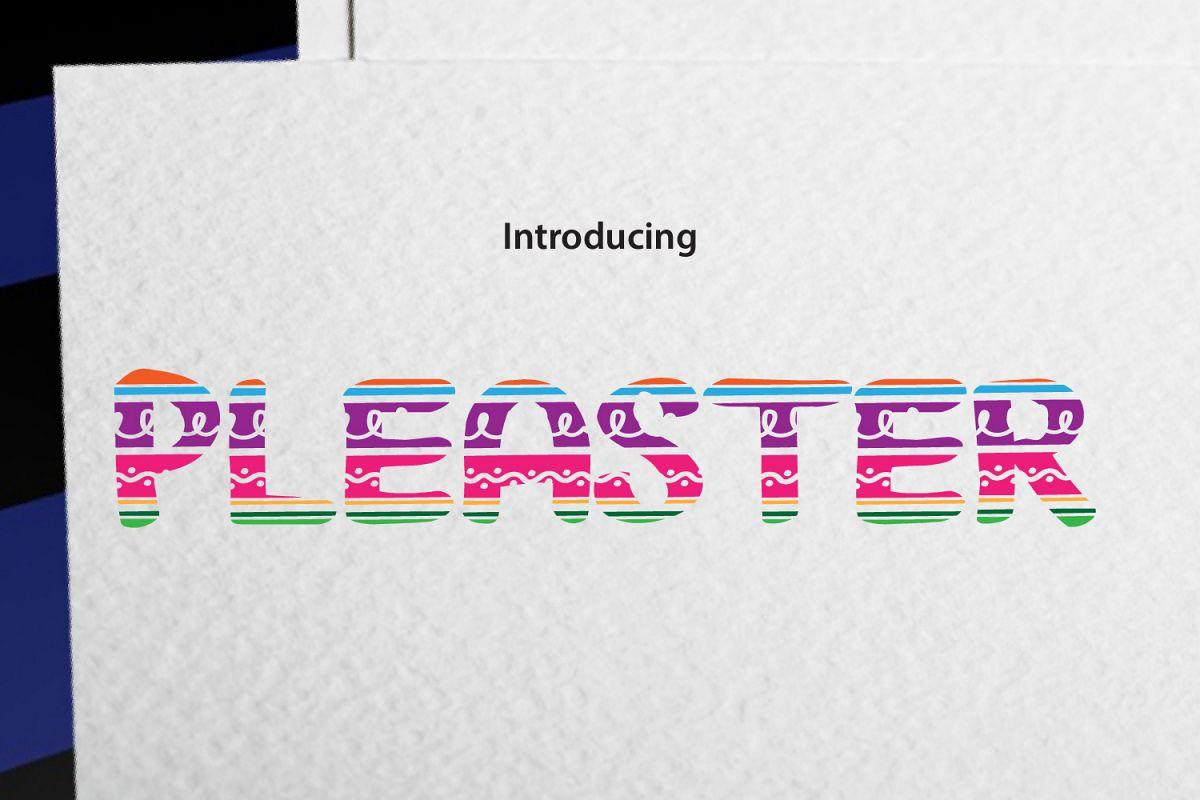 PLEASTER example image 1