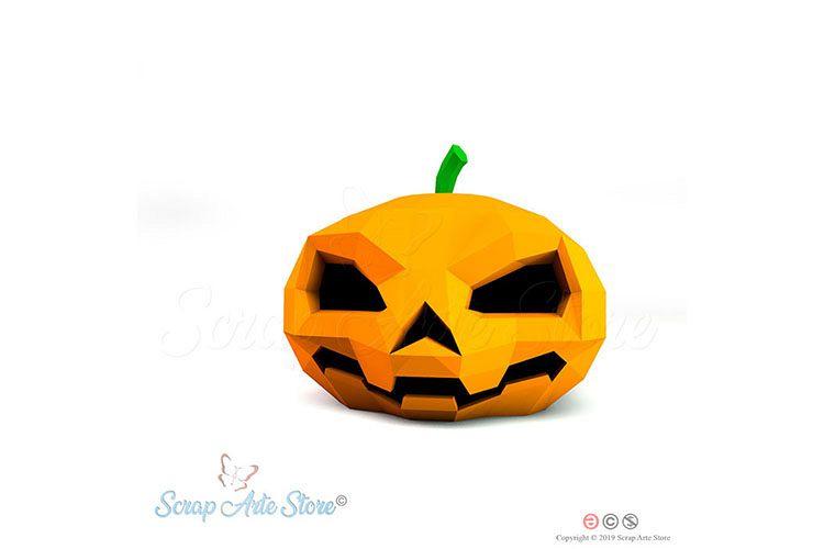 Box pumpkin hallowenn Cut Files example image 1