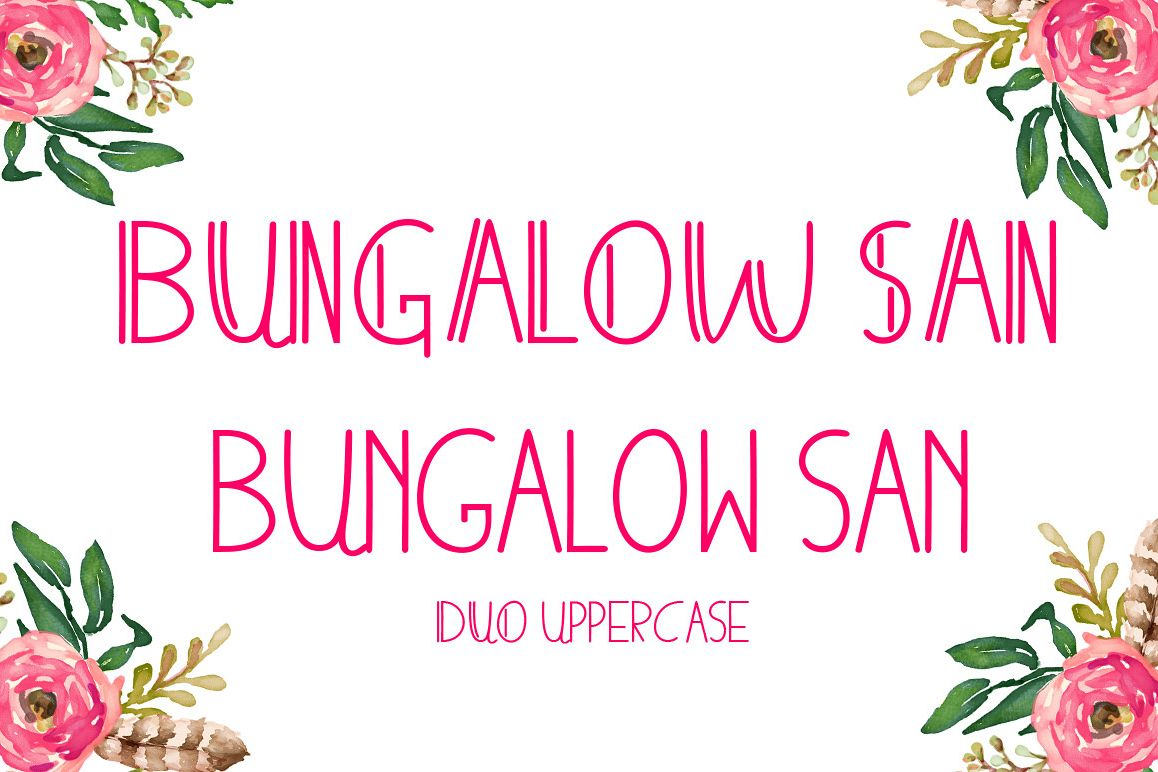 BUNGALOWSAN example image 1