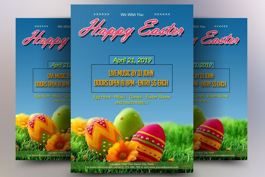 Easter Flyer example image 1