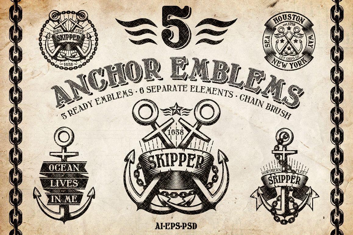 Marine Anchor Logos example image 1