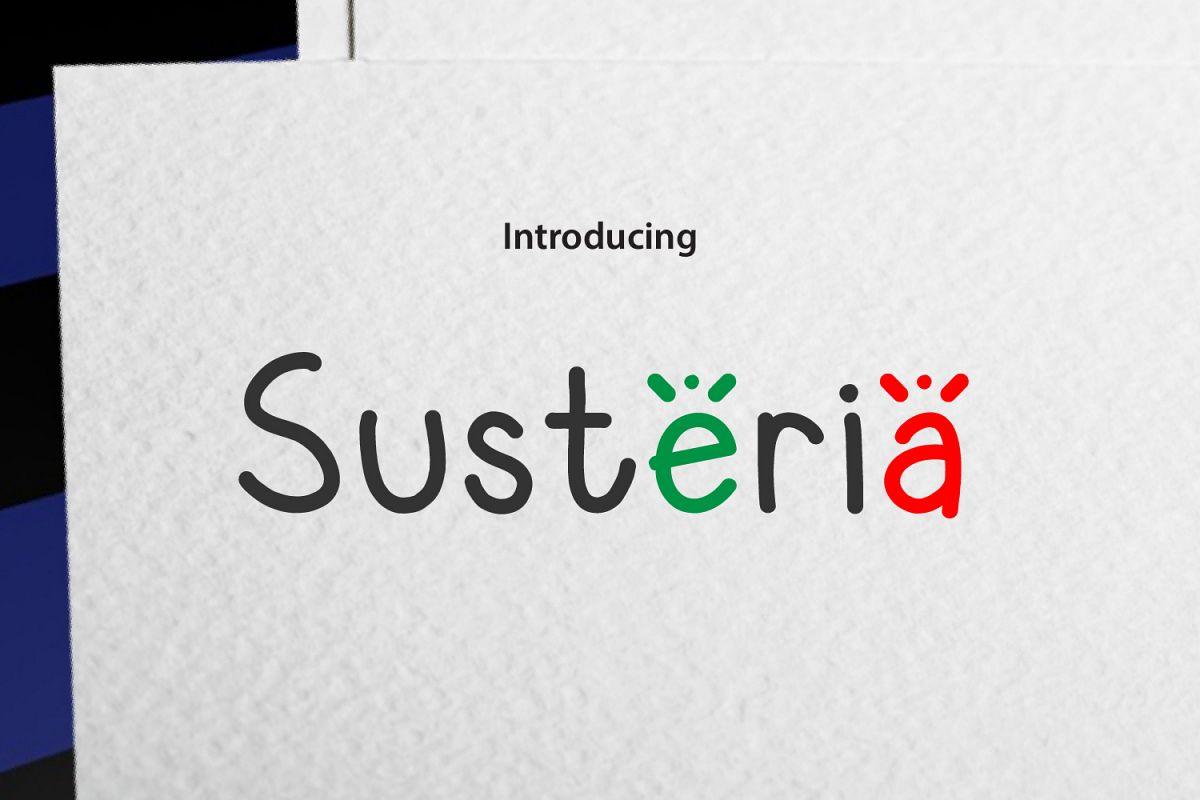 Susteria example image 1