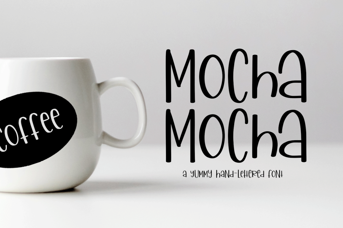 Mocha Mocha - A Yummy Hand-Written Font example image 1