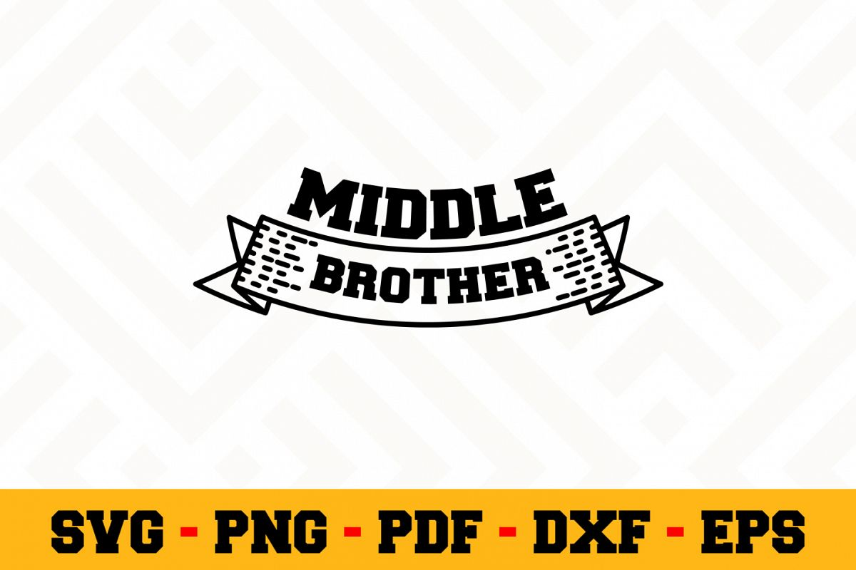 Brother SVG Design n514 | Brother SVG Cut File example image 1