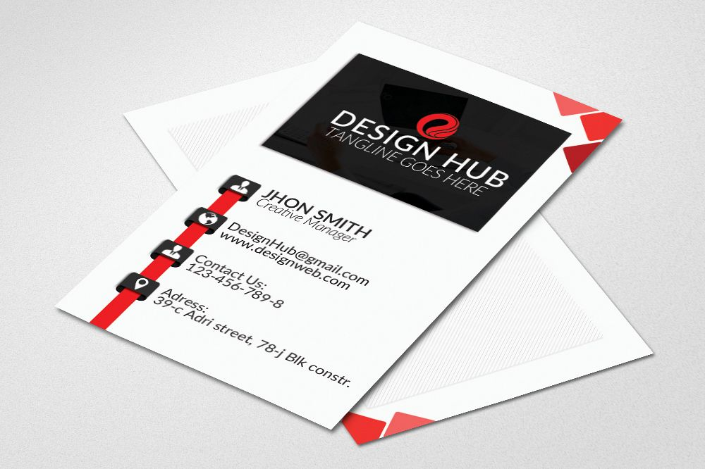 Vertical business card template vertical business card template example image 1 friedricerecipe Image collections