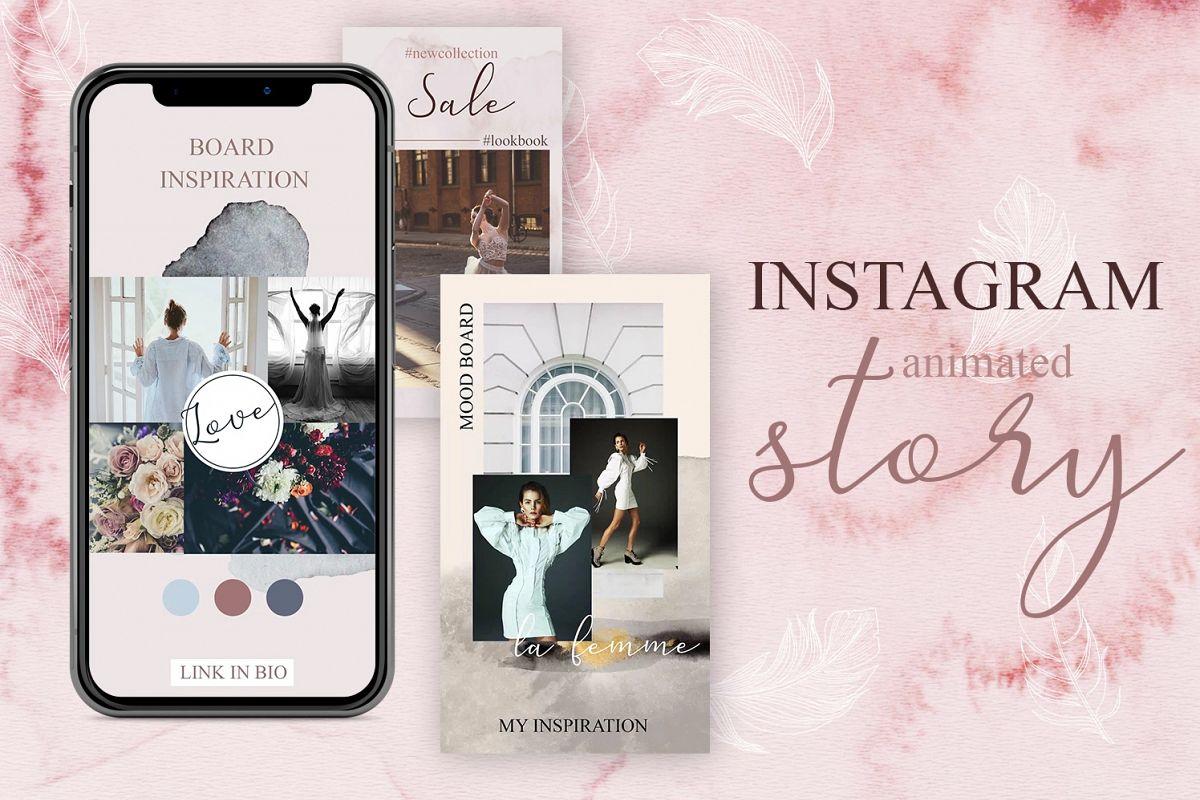Скачать [Designbundles] ANIMATED Instagram story - Watercolor (2019), Отзывы Складчик » Архив Складчин