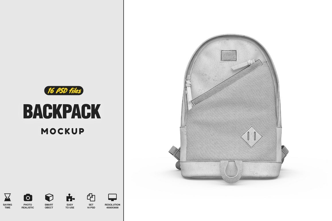BackPack Mockup example image 1