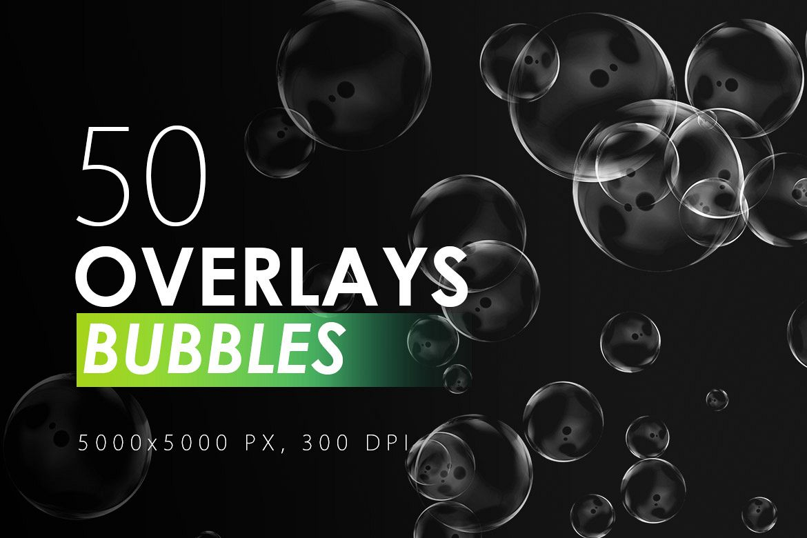 50 Bubble Overlays example image 1