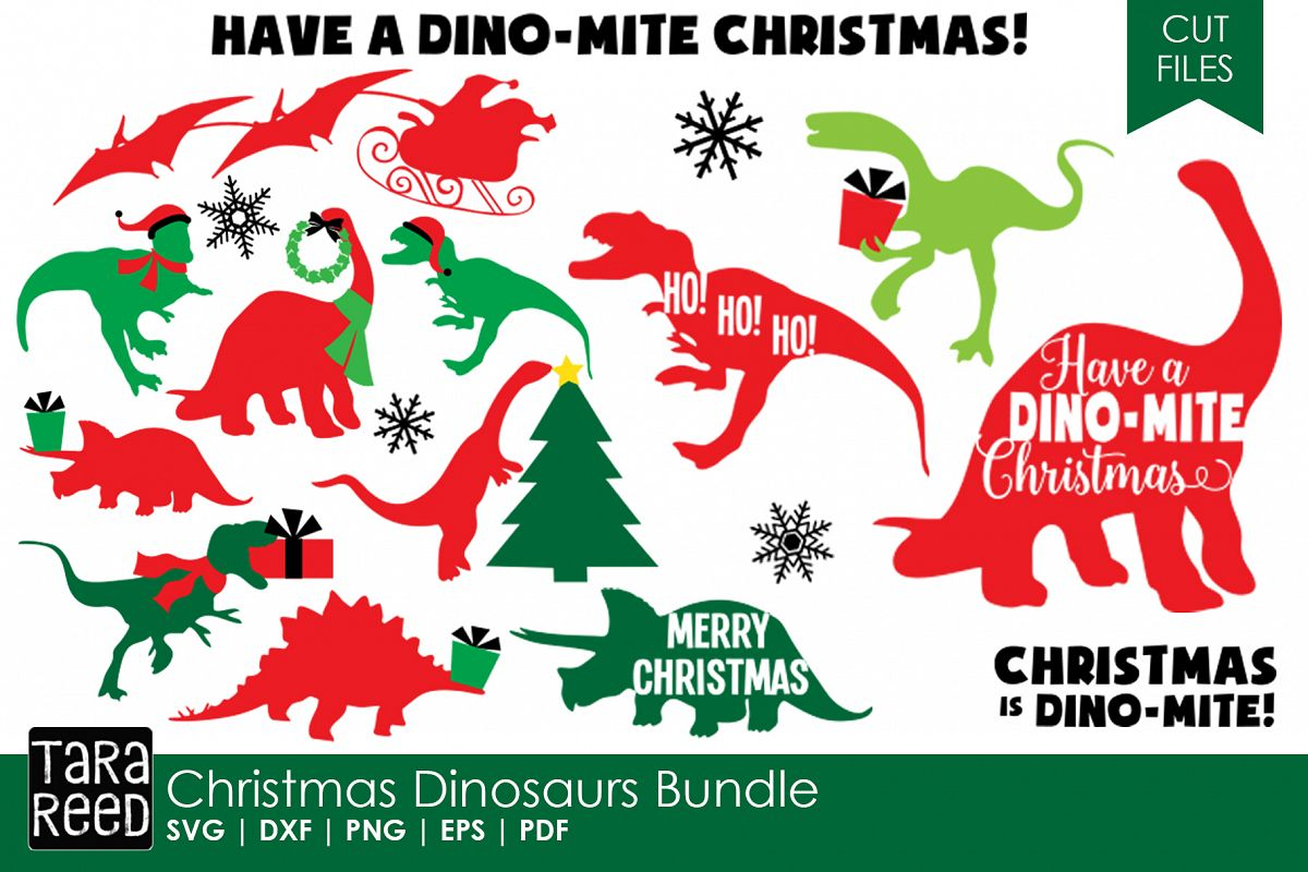 Dinosaur Christmas.Dinosaur Christmas Christmas Svg Cut Files For Crafters