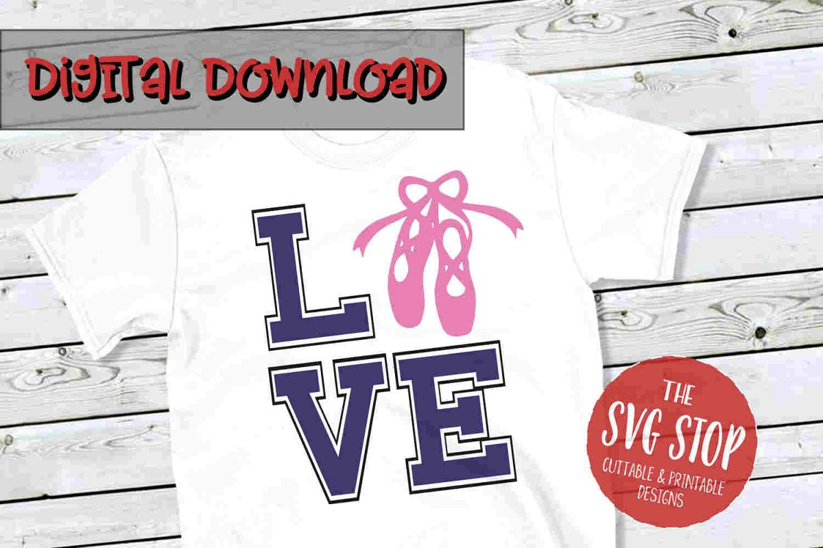 Love Dance 2 -SVG, PNG, DXF example image 1