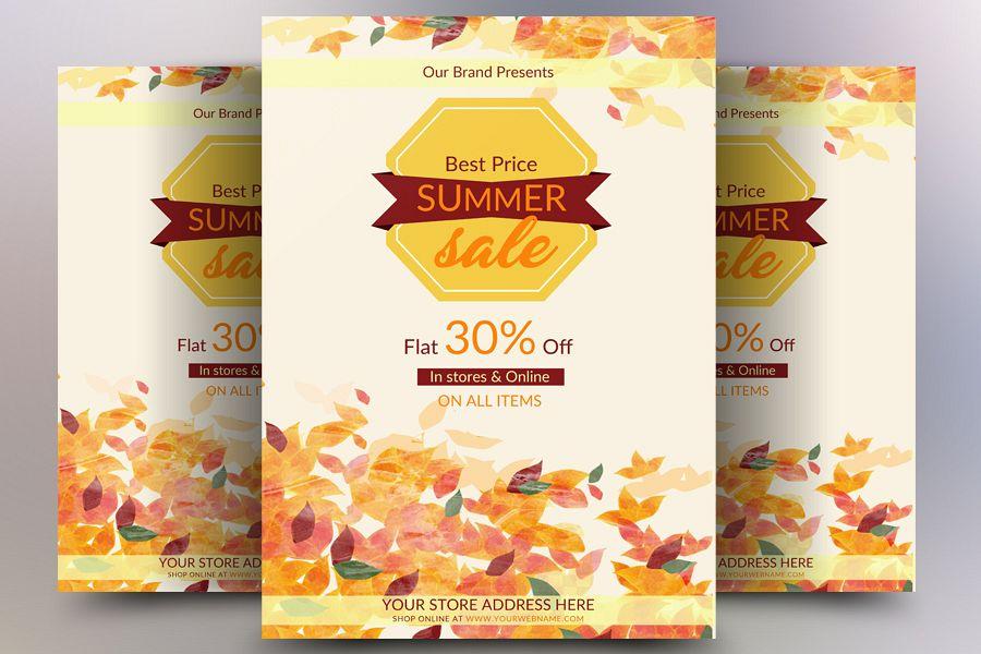 Best Summer Sale Flyer example image 1