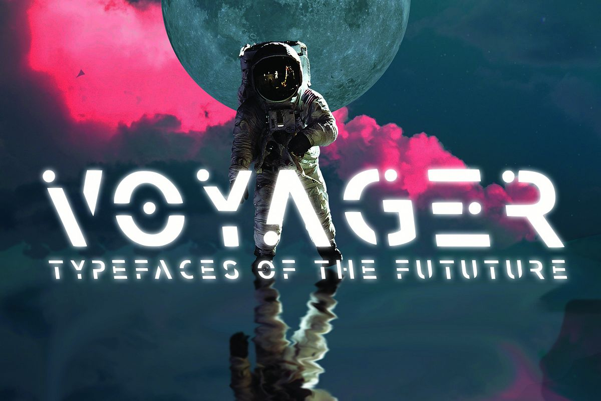 VOYAGER - Typefaces of the Future example image 1