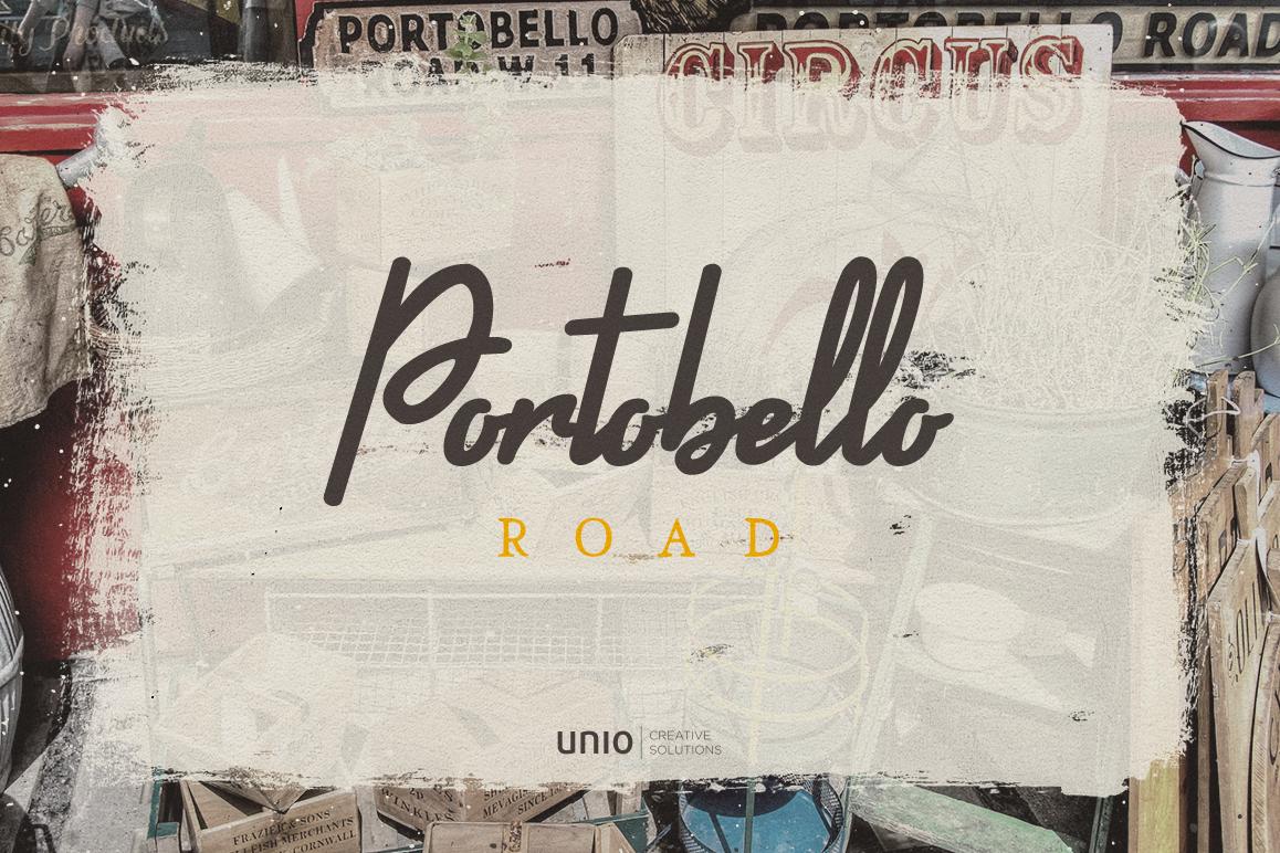 Portobello Road - Font Trio example image 1