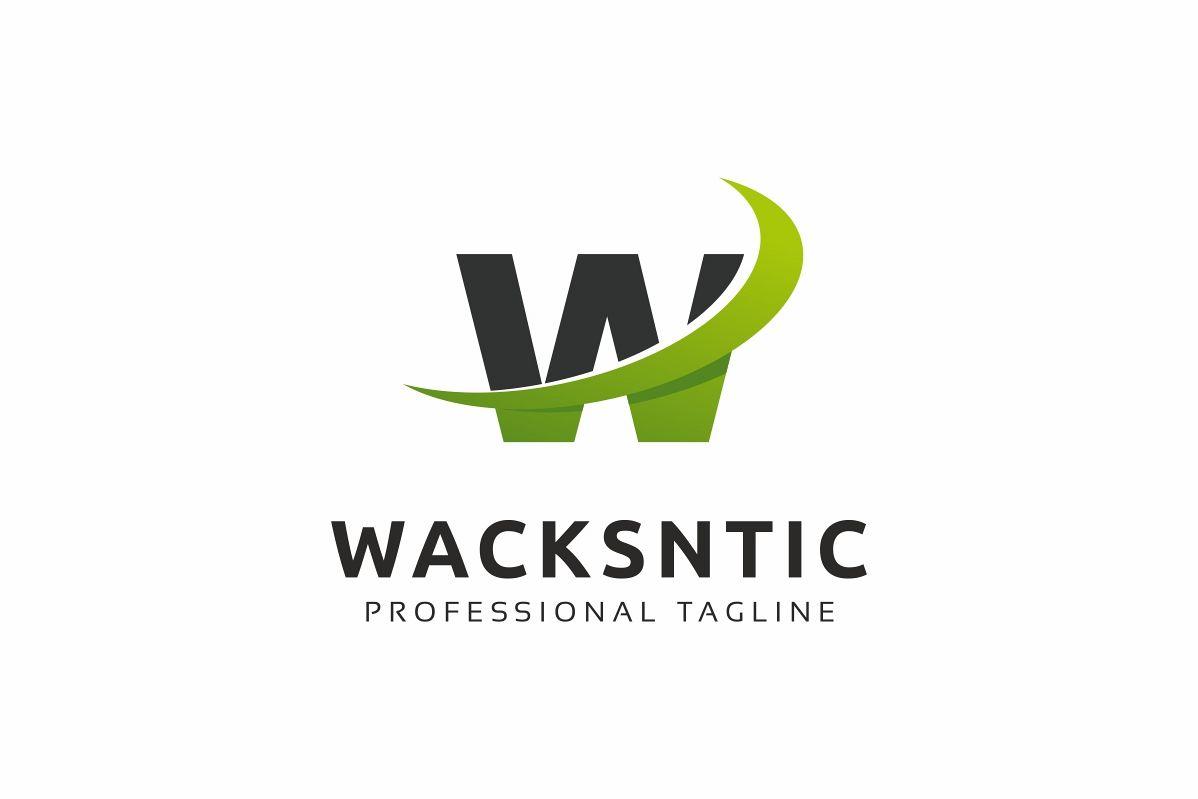 Wacksntic W Letter Logo example image 1