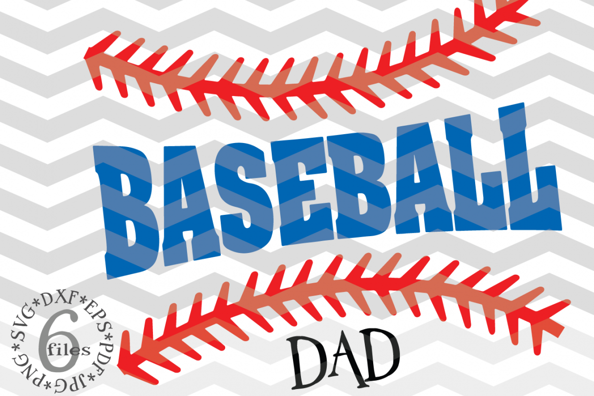 Baseball Dad svg - Baseball Family SVG - Baseball svg example image 1