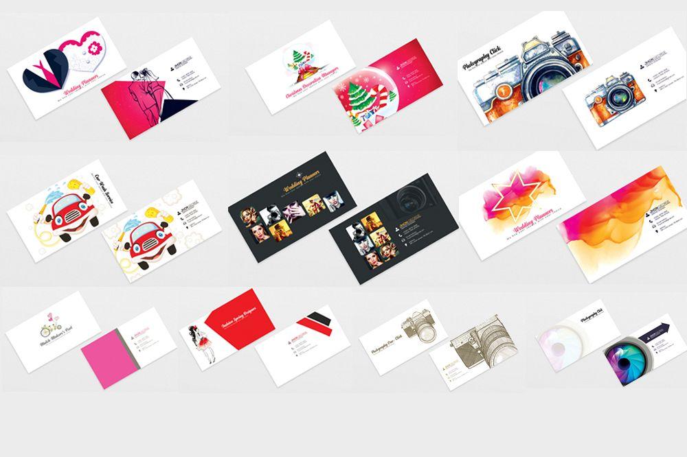 10 Professional Mix Business cards Bundle example image 1