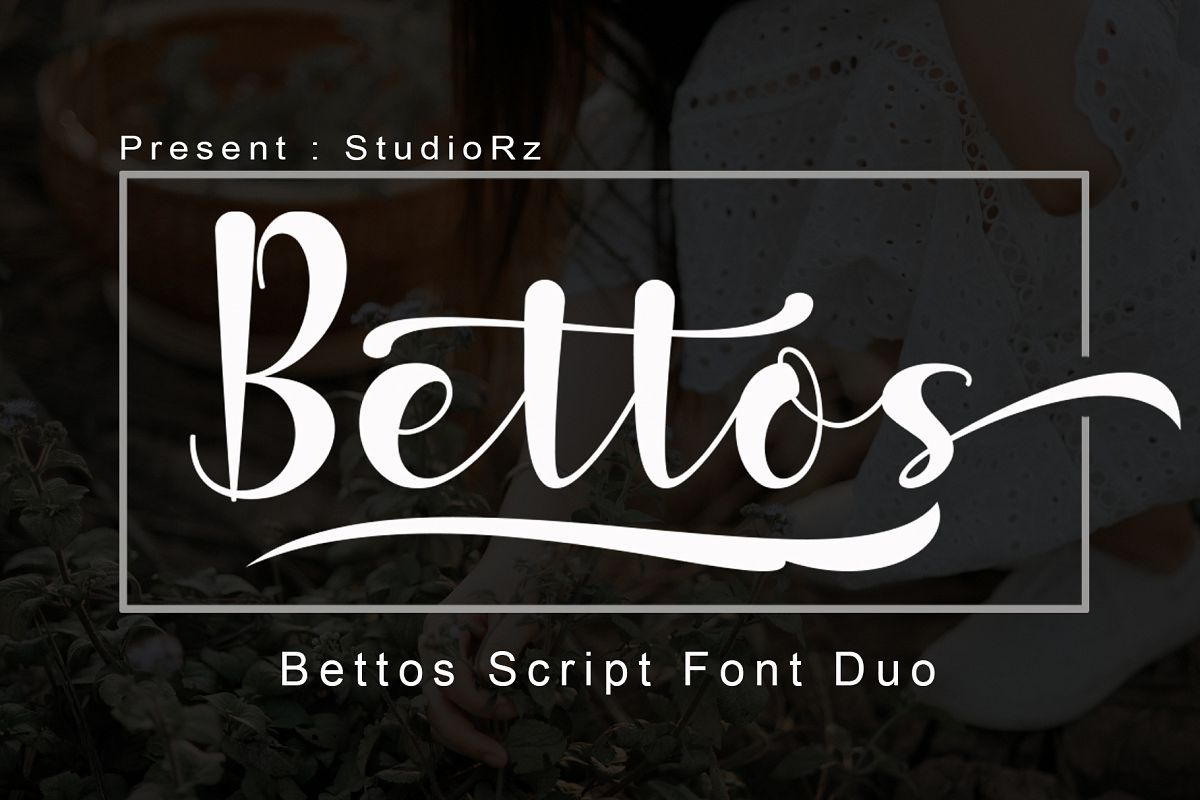 Bettos Font Duo example image 1