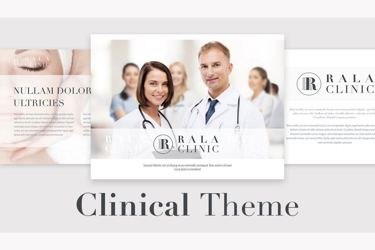 Clinical Theme for Powerpoint example image 1