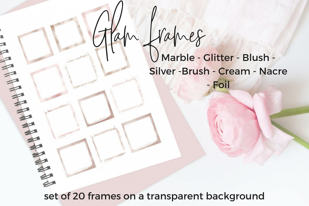 20 Glam frames example image